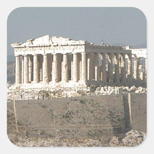 Athens--Greece-ancient-history-585526_1279_957.jpg Pegatina Cuadrada