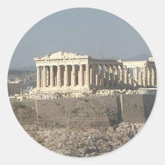 Athens--Greece-ancient-history-585526_1279_957.jpg Pegatina Redonda