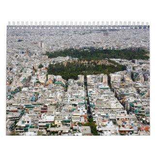 Athens  Greece Calendar