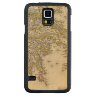 Athens, Greece Carved® Maple Galaxy S5 Slim Case
