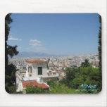 Athens Greece mousepad