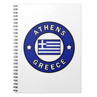 Athens Greece Notebook
