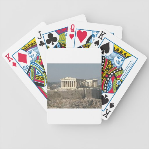 Athens Greece Parthenon (KAN) Playing Cards