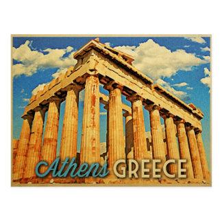 Athens Greece Parthenon Postcard