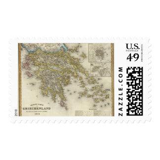 Athens, Greece Postage Stamp