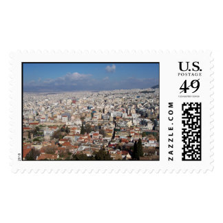 Athens Greece Postage Stamp