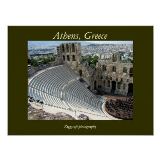 Athens, Greece poster