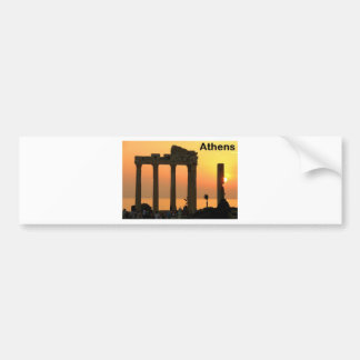 Athens Greece (Sounion) Temple of Apollo (St.K) Bumper Sticker