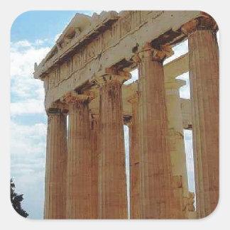 Athens Greece Square Sticker