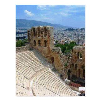 Athens Greece the Colosseum Postcard