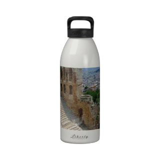 Athens Greece the Colosseum Water Bottle