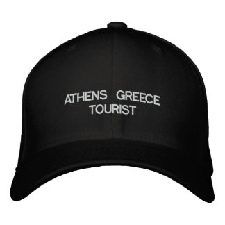 ATHENS GREECE TOURIST HAT EMBROIDERED HATS
