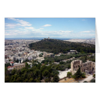 athens green view card