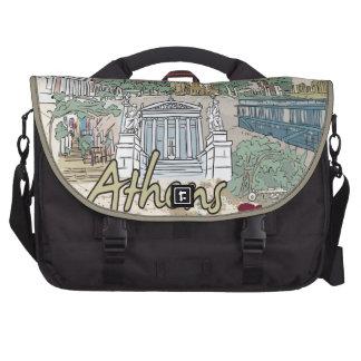 Athens Laptop Messenger Bag