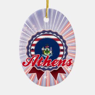 Athens, ME Christmas Ornaments