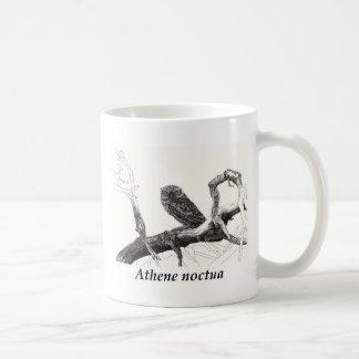 Athens noctua. coffee mug