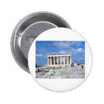 Athens Parthenon 2 Inch Round Button