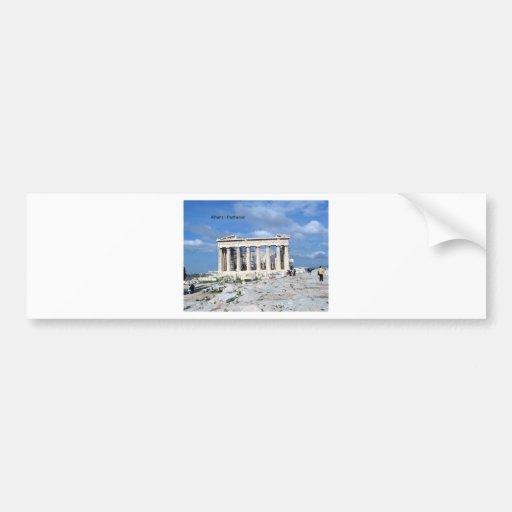 Athens Parthenon Bumper Sticker