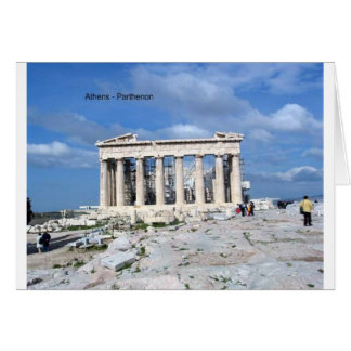 Athens Parthenon Card