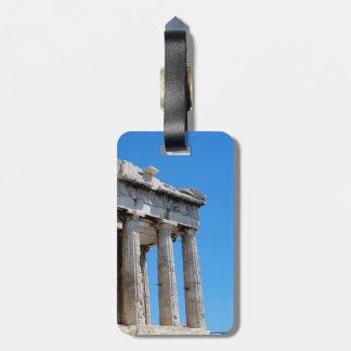 Athens Parthenon Travel Bag Tag