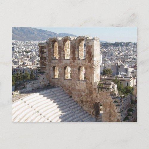 Athens Postcard postcard