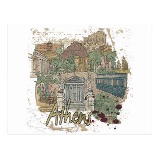 Athens Post Card