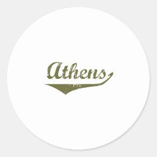 Athens Revolution tee shirts Sticker