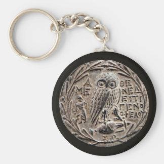 Athens Silver Tetradrachm Keychain