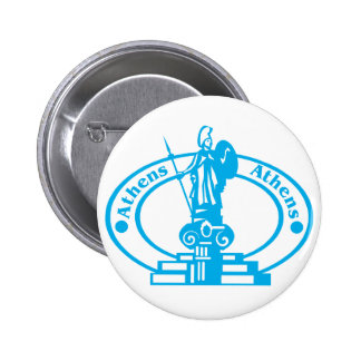 Athens Stamp Button