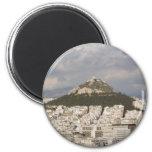 Athens View Fridge Magnets