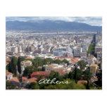 athens vista postcard