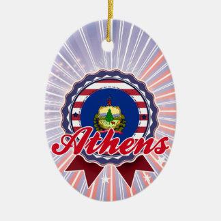 Athens, VT Ornament