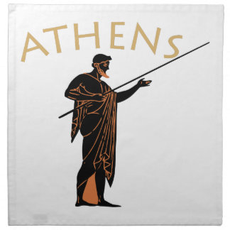 Athens Warrior Napkin