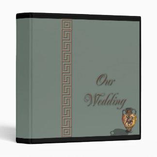 Athens Wedding Album 3 Ring Binder