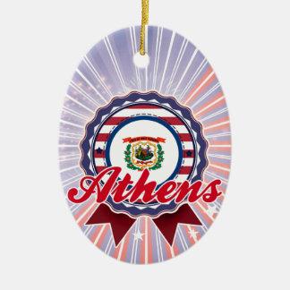 Athens, WV Ornament