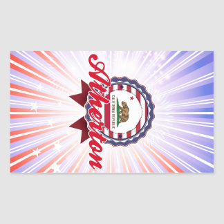 Atherton CA Rectangle Stickers