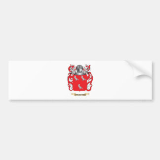 Atherton Coat of Arms (Family Crest) Bumper Sticker