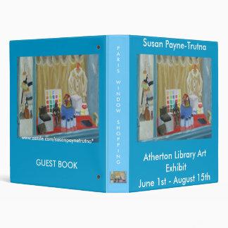 Atherton Library Art Exhibit Binder