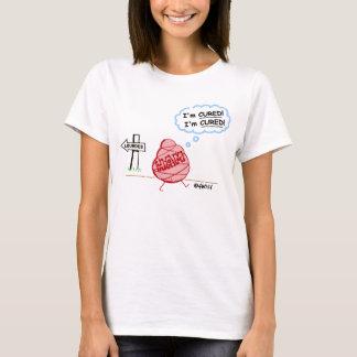 Athiest Agnostic Anti Faith Healing Funny T-Shirt