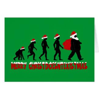 Athiest Christmas Card