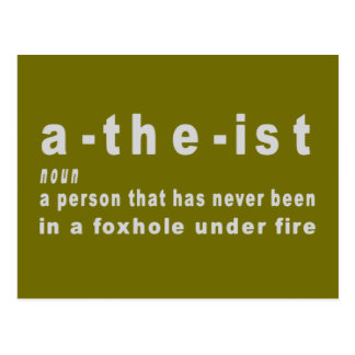 ATHIEST POSTCARD