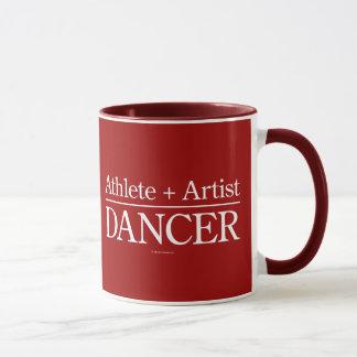 Athlete + Artist = Dancer Mug