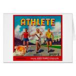 Athlete Brand Citrus Crate Label