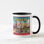 Athlete Brand Citrus Crate Label Mug