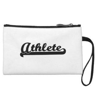 Athlete Classic Job Design Wristlet Purses
