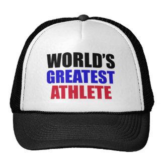 athlete design trucker hat