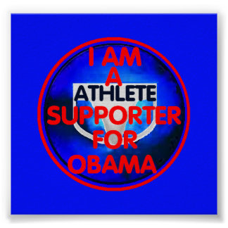 Athlete SUPPORTER Poster