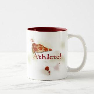 athlete Two-Tone coffee mug