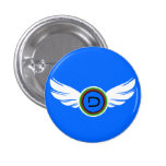 Athlete Wings Buttons