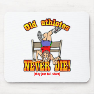 Athletes Mouse Pad